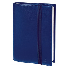 Agenda QUOVADIS TIME & LIFE Septembre POCKET - 10x15cm - BLEU PERSE - 1 semaine sur 2 pages