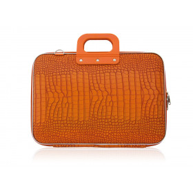 "Mallette PC Portable 15"" BOMBATA COCO vinyle ORANGE - 43x33x7cm"