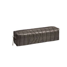 Trousse COCCO BOMBATA TAUPE - 20x6x6cm