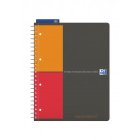 Cahier A4+ à spirale MANAGERBOOK OXFORD International - spécial projet - 233x298mm