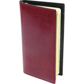 Agenda MIGNON AS16 - 154x78mm - Lézard Rouge
