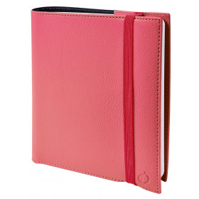 Agenda QUOVADIS TIME&LIFE Medium Time & Life - Rose Blush - 16x16cm - 1 semaine sur 2 pages