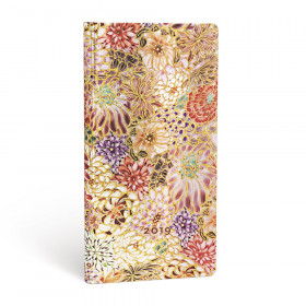 Agenda PAPERBLANKS Kikka - Slim - 90×180mm - 1 semaine sur 2 pages Horizontal