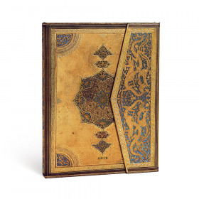 Agenda PAPERBLANKS Safavide - Ultra - 180×230mm - 1 semaine sur 2 pages Vertical
