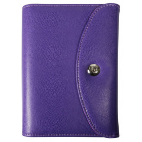 DESTOCKAGE-Agenda organiseurs EXACOMPTA Exatime 17 light Philae violet - 190x135mm