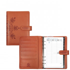 Agenda organiseurs EXACOMPTA Exatime 17 light Cordoba orange - 190x135mm