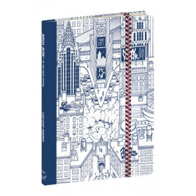 Agenda QUOVADIS Note 21 15x21cm Dr Paper - 1 semaine sur 1 page Horizontal+NOTE - New York