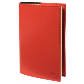 Agenda QUOVADIS Note 15S 10x15cm Soho - 1 semaine sur 1 page Horizontal+NOTE - Rouge Dali